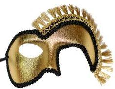 Troyan Warrior Masquerade Mask