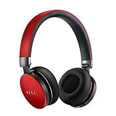 FIIL Diva Pro Auriculares Over-Oreja Bluetooth 4.1 OTG Casco Cancelación de Ruido HiFi Encender Automático Inteligente Controlar Táctil con MP3 Interior y Micrófono Distancia 100m Batería 580mAh, Rojo