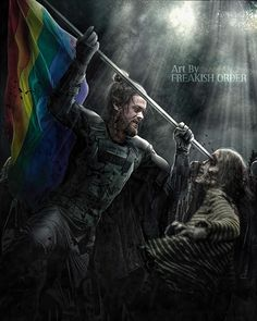 requested, Jesus & the pride flag.Inspired by the cover variant of issue Decided to include the process on this one since… Jesus The Walking Dead, Daryl And Jesus, Walking Dead Fan Art, The Walk Dead, Walking Dead Wallpaper, Walking Dead Comics, Walking Dead Show, Walking Dead Series, Fear The Walking Dead