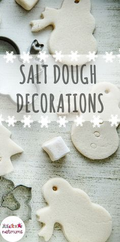 Salt dough is lovely to work with – soft and squidgy and it can be baked so it is perfect for making hanging decorations too. Here is a super quick and easy recipe to make your own salt dough.