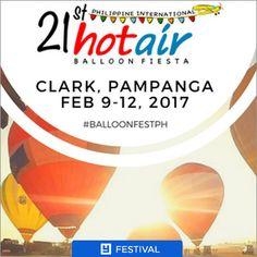 LAST Hot Air Balloon Festival in Clark?! Clark Freeport Zone