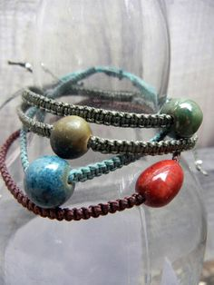 Mana Memorial Bracelet by SisuBeads on Etsy, $99.00