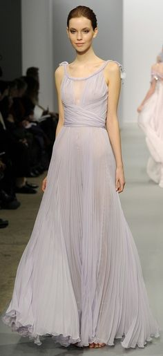 Christophe Josse.... forget bridesmaid dress! Give me this in white!