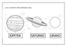 Menta Más Chocolate - RECURSOS y ACTIVIDADES PARA EDUCACIÓN INFANTIL: Proyecto: EL UNIVERSO (1) Summer School, Solar System, Spanish, Universe, Science, Chocolate, Space, Kids, First Week Activities