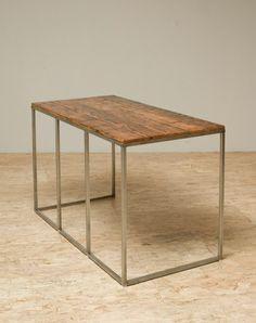 """Gorgeous Century Old Reclaimed Wood """"Shenandoah"""" Desk:"""