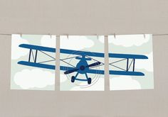Hey, I found this really awesome Etsy listing at http://www.etsy.com/listing/127121688/baby-boy-airplane-nursery-art-print-set