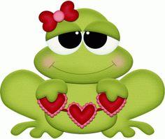 Diseño de la silueta tienda - Ver Diseño # 55073: Rana de San Valentín con corazones de PNC