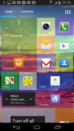 Donner le look de Windows 8 à Android avec l'application Tile Launcher