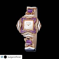 """#watch #diamond #purple #pink #gorgeous #beauty #beautiful #beautifulpicsnvids #jewlery"""
