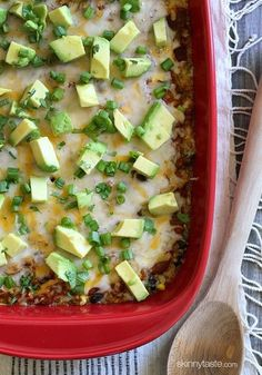 Quinoa Fiesta Enchilada Bake MADE IT- DELISH!!! Love it. I calculated fewer Smart Points (3) without the avocado and with less cheese. It just didn't need that much!