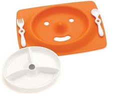 Skip Hop Mate Feeding Plate and Utensils - Orange by Skip Hop, http://www.amazon.com/dp/B001KA3JGG/ref=cm_sw_r_pi_dp_t9H6qb1WHMEC7