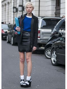 Day 1 Street Style at London Fashion Week
