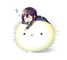 Don't sleep Yato! by Neko-Slay on deviantART | We Heart It