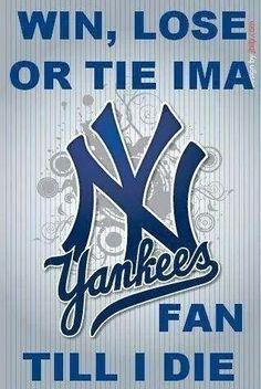 So true i am Yankee blue.