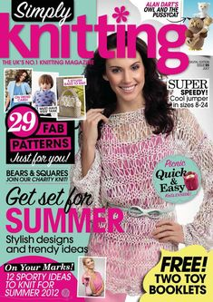 Simply Knitting+Simply Crochet+Knitting Magazine+Festive Knits to Gift 2011 wwwSimply Knitting 2012-07_1