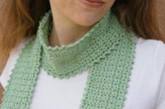 Top 5 Crochet Ideas for Spring: A Lacy Scarf Makes a Delightful Springtime Accessory. The Crochet Scarf Pattern Is Available for Free on Our Website.