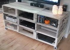 Beer crate entertainment unit - Google Search