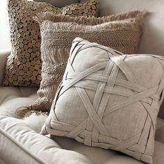 Подушки декоративные на диван своими руками фото