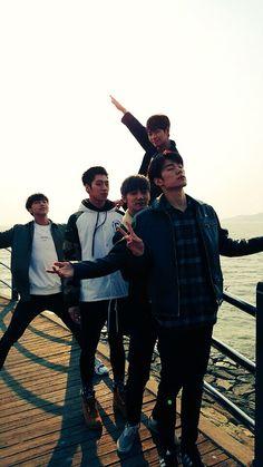 KNK ~ Heejun, Youjin, Inseong, Jihun, and Seungjun