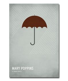 One of my favorite stories about opening your heart to wonder. :: Mary Poppins Canvas Art by Christian Jackson (awesome collection of other titles on zulily right now)