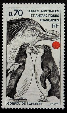 Royal Penguin stamp