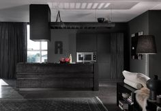 Fossile отMarchetti Maison.  #marchettimaison#archiproducts#black#furniture #homefurniture #modernfurniture #italiankitchen #kitchen #cucina #kitchendesign #kitchenisland #modernkitchen #homedesign #interiordesign #design #lecucine #итальянскаямебель #итальянскиекухни #кухнииталии #кухни #дизайнкухни #современнаякухня #кухнимодерн #кухнимосква #дизайн #дизайнинтерьера #дизайнкухни #интерьер #интерьеркухни #лекучине by lecucine.ru