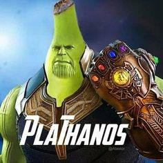 De Canarias #platanos #infinitywar #Thanos #superheroes #villano Best Memes, Dankest Memes, Funny Memes, Hilarious, Jokes, Stupid Memes, Funny Stuff, Marvel Memes, Frases