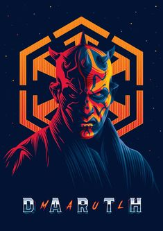 Aleksey Rico - Star Wars Illustration - Darth Maul via Star Wars Fan Art, Darth Maul Wallpaper, Star Wars Wallpaper, Images Star Wars, Star Wars Pictures, Star Wars Sith, Clone Wars, Star Trek, Marvel Timeline