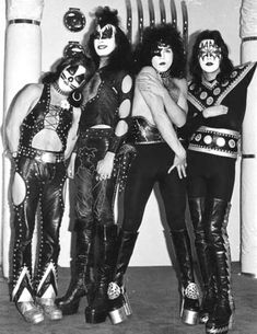 KISS (Peter Criss; Gene Simmons; Paul Stanley; Ace Frehley)