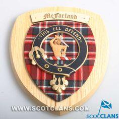 MacFarlane Clan Crest Plaque