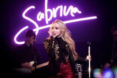 Sabrina Carpenter Performing at Highline Ballroom in New York City, November 2016
