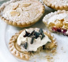 This sweet chestnut, cream and chocolate tart filling is perfect spooned into pre-baked tartlet cases for a no-bake alternative to mince pies