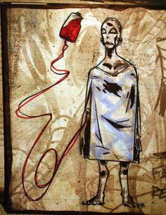 "magnetsandthesun: "" Gerard Way art spam - The Black Parade concept art part 1 "" My Chemical Romance, Gerard Way Art, Art Sketches, Art Drawings, Emo Art, Black Parade, Emo Scene, Emo Bands, Dark Art"
