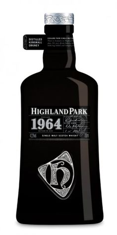 HP 1964 year new bottle design.