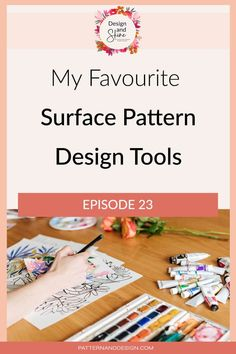 In this podcast episode of Design and Shine, I share my favourite tools that I use within my surface pattern design business. Tool Design, Design Process, Inspiration For Kids, Design Inspiration, Textile Design, Fabric Design, Kids Patterns, Photoshop Tips, Surface Pattern Design