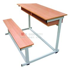 One desk for two School Furniture, Sofa Furniture, Kids Furniture, Sofa Chair, School Tables, School Chairs, Desk For Two, Foldable Stool, Bunk Bed With Desk