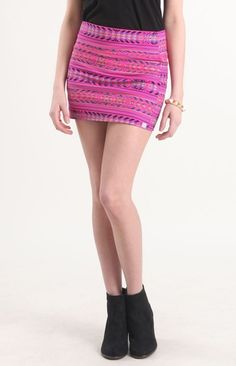 Billabong Show Me Skirt from PACSUN on shop.CatalogSpree.com, your personal digital mall.
