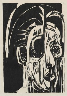 Picture result for the German expressionism Source by skharlan Notan Art, Woodcuts Prints, Expressionist Art, Engraving Printing, Linocut, German Expressionism, Degenerate Art, Etching Prints, Art Movement