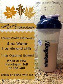 Fashionable, Fit, & Fabulous: Salted Caramel Shakeology Recipe