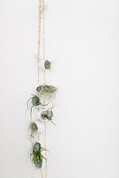 Image of Porcelain Hanging Air Planters