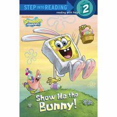 Help Spongebob Squarepants have fun with his hippity, hoppity friends with this great book.