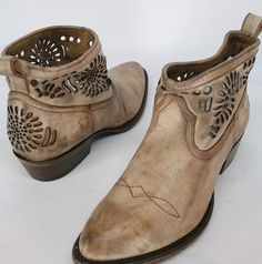 Matisse Sz 9 Shelby Embellished Western Style Boot Beige NEW 2nd #Matisse #FashionAnkle