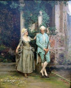 Cesare Auguste Detti (Italian 1847-1914)