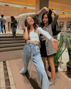 Korean Best Friends, Friend Photos, Besties, Nct, Mom Jeans, Bears, Kpop, Poses, Fashion Outfits