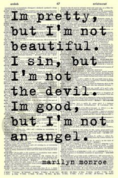 MARILYN MONROE 5 Instant Download Quotes on by OCVintageArtCouture, $5.99