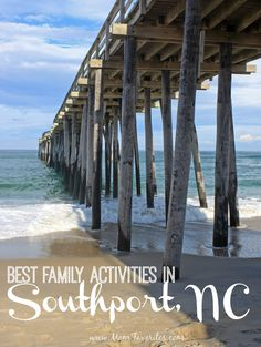 Heading to Carolina Coastwith the fam?  Don't miss out on the best family activities in Southport, North Carolina!