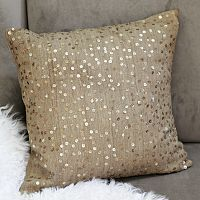 $44 I am doing my room in neutrals so this champagne pillow from West Elm would be beautiful.