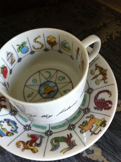 Tea Reading Cup by HillsideHouse on Etsy