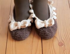 crochet room shoes