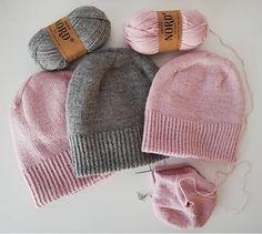 Ravelry: The Sweet Alice Beanie pattern by Elizaveta Klimenko Beanie Knitting Patterns Free, Knit Beanie Pattern, Beginner Knitting Patterns, Baby Hats Knitting, Knitting Yarn, Knit Patterns, Knitting Projects, Crochet Mittens, Knit Or Crochet
